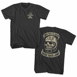 Evel Knievel - Mens Snake River Jump T-Shirt