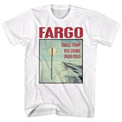 Fargo - Mens Stop Sign T-Shirt