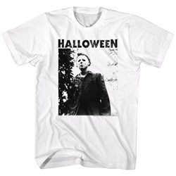 Halloween - Mens Watching Big Title T-Shirt