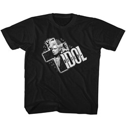 Billy Idol - Youth Cross It Out T-Shirt