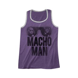 Macho Man - Mens Ooold School Ringer Tank Top