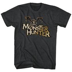 Monster Hunters - Mens Mh Logo T-Shirt