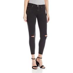 Hudson - Womens Nico Midrise Raw Hem Skinny Jeans