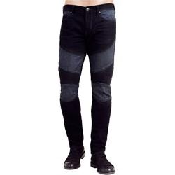 True Religion - Mens Rocco Moto Skinny Jeans