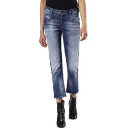 Diesel - Womens Belthy Ankle Highstraight Leg Jeans, Wash Code: 084DD