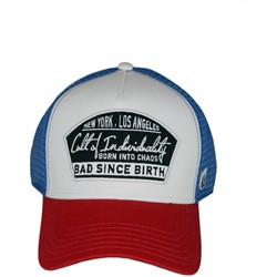 Cult of Individuality - Mens Logo Mesh Trucker With Curved Brim Hat