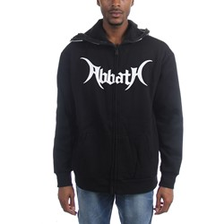 Abbath - Mens War Paint Full Zip Up Hoodie