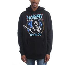Jimi Hendrix - Mens Tour 70 Hoodie