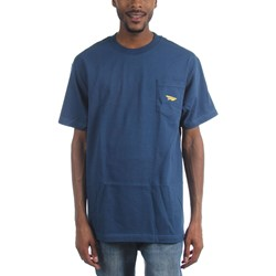 Benny Gold - Mens Classic Paper Plane Pocket T-Shirt