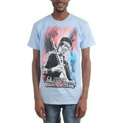 Jimi Hendrix - Mens Nebula T-Shirt