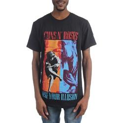 Guns N Roses - Mens 1991 Illusion Combo T-Shirt