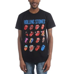 Rolling Stones - Mens Evolution Blue And Lonesome T-Shirt