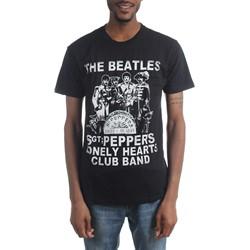 The Beatles - Mens Sgt Pepper Crackle T-Shirt