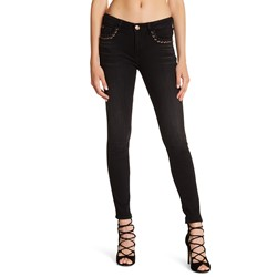 True Religion - Womens Halle Super Skinny Eyelet Skinny Jeans