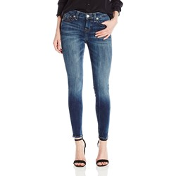True Religion - Womens Halle Mid Rise Super Skinny Skinny Jeans