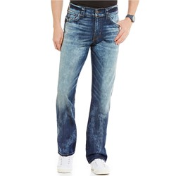 True Religion - Mens Ricky Se Straight Jeans With Flap