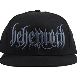 Behemoth - Mens Behemoth Black Logo Snap Back Hat