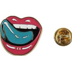 Falling In Reverse - Mens Lips Enamel Pin Accessory