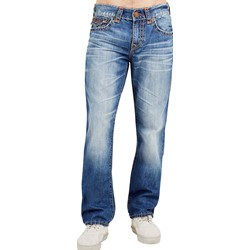 True Religion - Mens Ricky Super T Straight Jeans With Flap