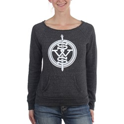 Sleeping With Sirens - Womens White Symbol Logo Sweater
