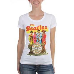 The Beatles - Womens Sgt Pepper T-Shirt