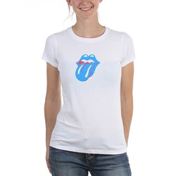 Rolling Stones - Womens Small Logo T-Shirt