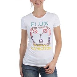 Back To The Future - Womens Flux Capacitor T-Shirt