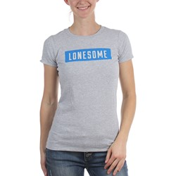 Rolling Stones - Womens Lonesome Block Text T-Shirt