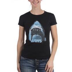 Jaws - Womens Jaws Head Logo T-Shirt