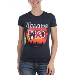 The Doors - Womens Sunset 50Th T-Shirt