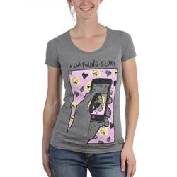 New Found Glory - Womens Social Media T-Shirt