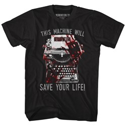 Resident Evil - Mens Save! T-Shirt