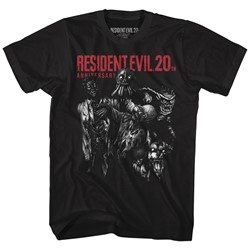 Resident Evil - Mens Monsters T-Shirt