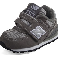 New Balance - unisex-baby 574 Hook and Loop Shoes