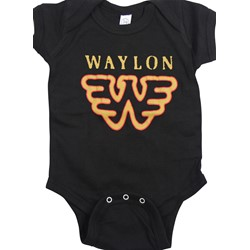 Waylon Jennings - Infant Flying W Onesie