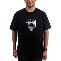 Stussy - Mens Big Cities T-Shirt
