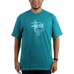 Stussy - Mens Big Cities T-Shirt
