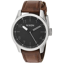 Nixon - Mens Safari 43mm Leather Watch