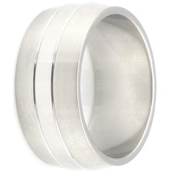 Stainless Steel Ring by BodyPUNKS (SSRX0081)