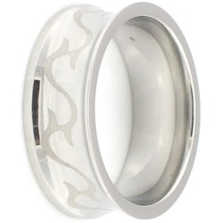 Stainless Steel Ring by BodyPUNKS (SSRX0428)