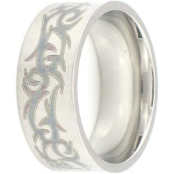 Stainless Steel Ring by BodyPUNKS (SSRX0525)