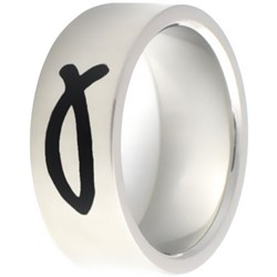 Stainless Steel Ring by BodyPUNKS (SSRX0571)