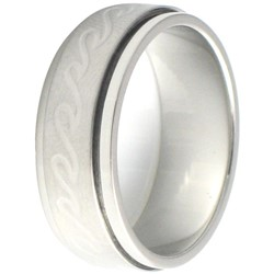 Stainless Steel Ring by BodyPUNKS (SSRX0597)