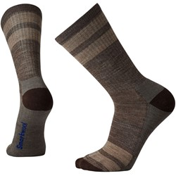 Smartwool - Unisex-Adult Striped Hike Light Crew Socks