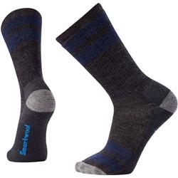 Smartwool - Unisex-Adult Striped Hike Medium Crew Socks
