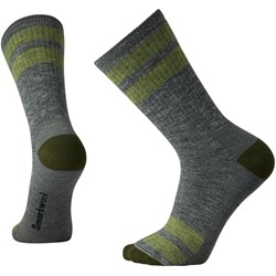 Smartwool - Unisex-Adult Striped Hike Medium Crew Socks