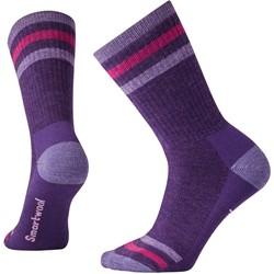 Smartwool - Womens Striped Hike Medium Crew Socks