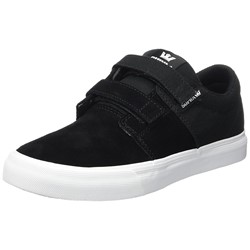 Supra - Unisex Child Stacks Ii Vulcanized Velcro Shoes