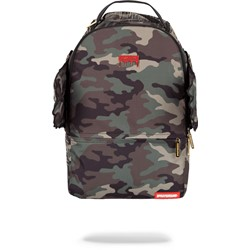 Sprayground - Unisex-Adult Gold Camo Drip Wings Backpack