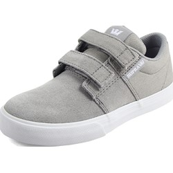 Supra - Unisex Child Stacks Ii Vulcanized with Fastner Shoes
